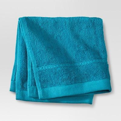 Threshold™ Botanic Fiber Washcloth - Monte Carlo Turquoise