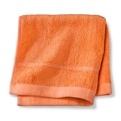 Threshold™ Botanic Fiber Washcloth - Orange Truffle