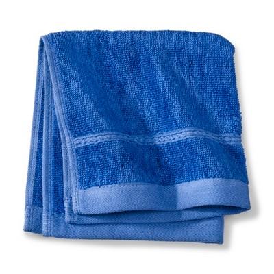 Threshold™ Botanic Fiber Washcloth - Blue Dolphin