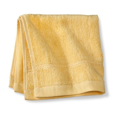 Threshold™ Botanic Fiber Washcloth - Beehive Yellow