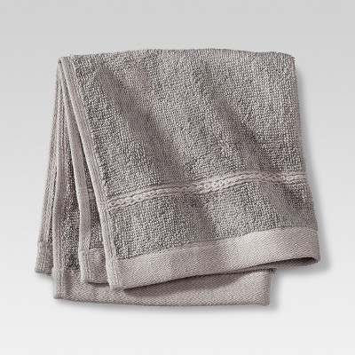 Threshold™ Botanic Fiber Washcloth - Cloak Gray