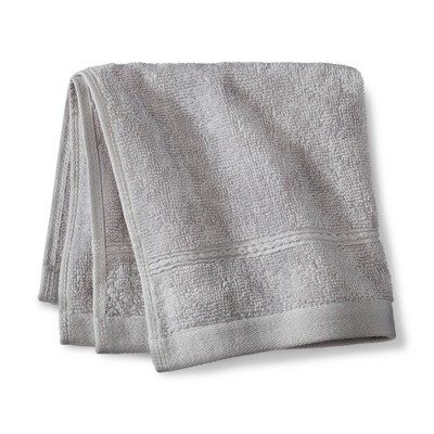 Threshold™ Botanic Fiber Washcloth - Silver Foil