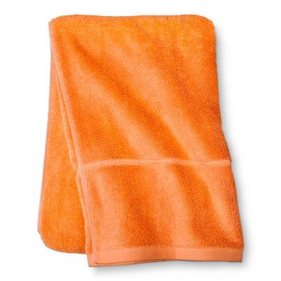 Threshold™ Botanic Fiber Bath Sheet - Orange Truffle