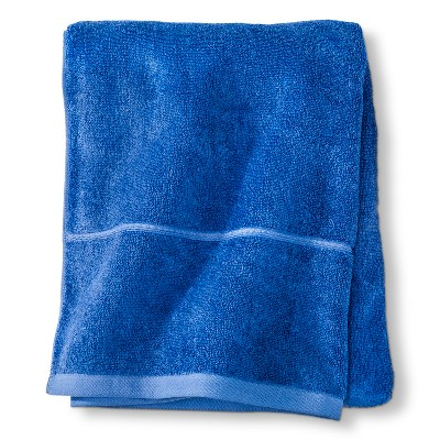 Threshold™ Botanic Fiber Bath Sheet - Blue Dolphin