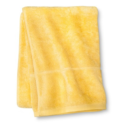Threshold™ Botanic Fiber Bath Sheet - Beehive Yellow