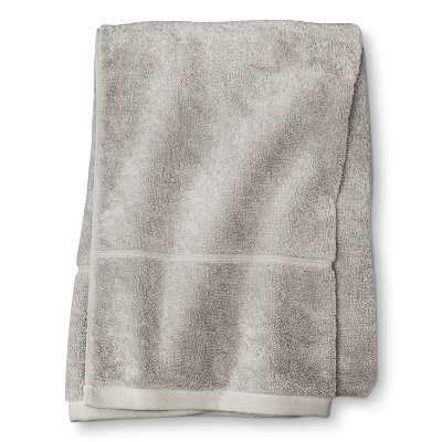 Threshold™ Botanic Fiber Bath Sheet - Silver Foil