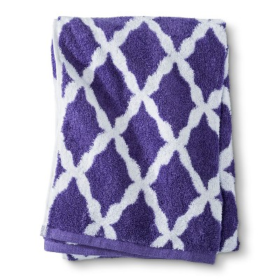 Threshold™ Botanic Fiber Bath Towel - Grape Fizz Accent