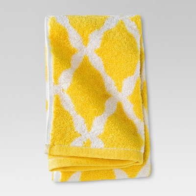 Threshold™ Botanic Fiber Hand Towel - Beehive Yellow Accent