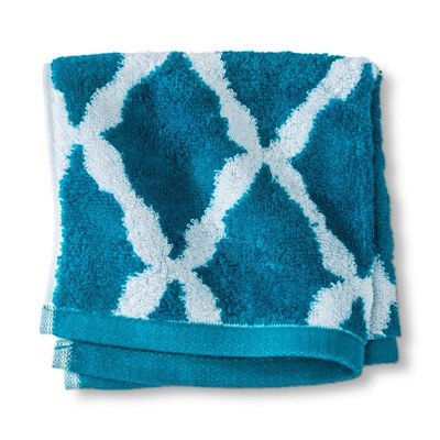 Threshold™ Botanic Fiber Washcloth - Monte Carlo Turquoise Accent