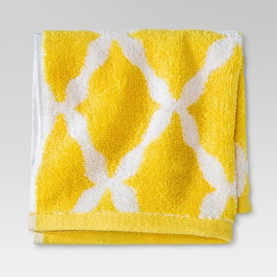 Threshold™ Botanic Fiber Washcloth - Beehive Yellow Accent