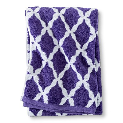 Threshold™ Botanic Fiber Bath Sheet - Grape Fizz Accent