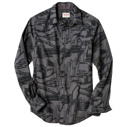 Mossimo Supply Co. Men's Geometric Print Shirt