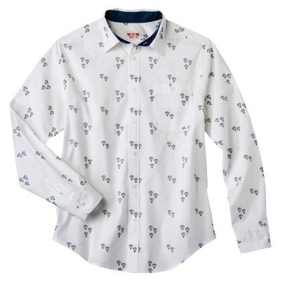 Mossimo Supply Co. Men's Diamond Print Shirt