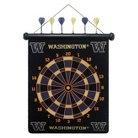 Washington Huskies Magnetic Dart Board Set