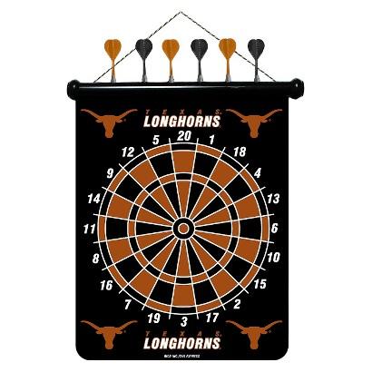 Texas Longhorns Magnetic Dart Board Set