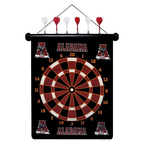 Alabama Crimson Tide Magnetic Dart Board Set