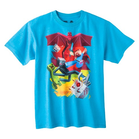 Boys' License Graphic Tee - Turquoise