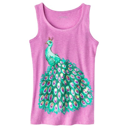 Girls' Tropical Graphic Tank