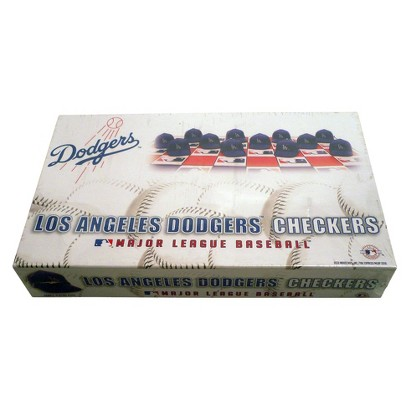 Rico MLB Los Angeles Dodgers Checker Set
