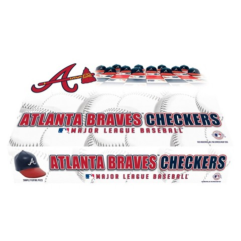 Atlanta Braves Rico Checker Set