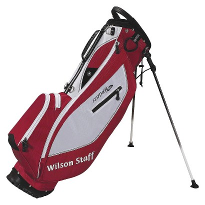 Wilson Staff Feather SL Golf Carry Bag - Red