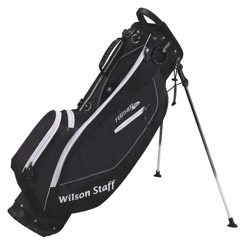 Wilson Staff Feather SL Golf Carry Bag - Black