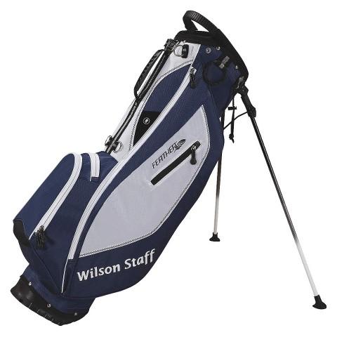 Wilson Staff Feather SL Golf Carry Bag - Blue