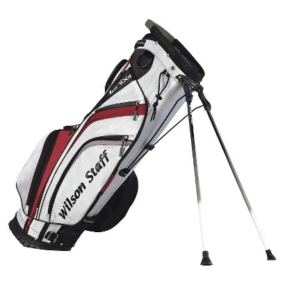 Wilson Staff Ionix Golf Carry Bag - White