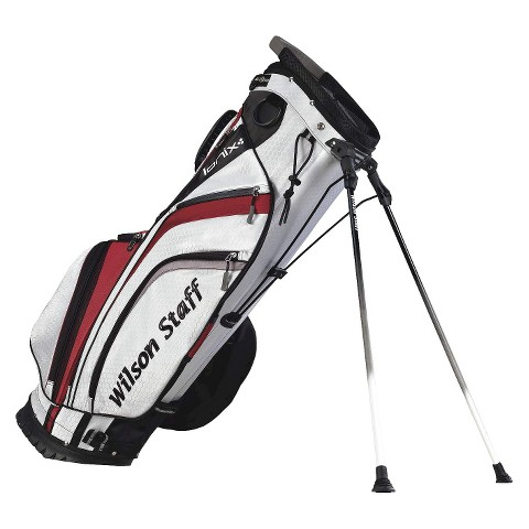 Wilson Staff Ionix Golf Carry Bag - White