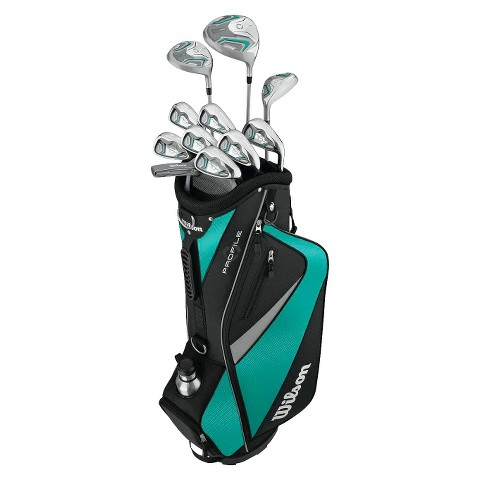 Wilson Profile Hl Ladies Left Hand Golf Package Set