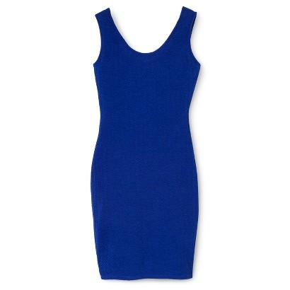 Junior's Bodycon Dress Royal Blue