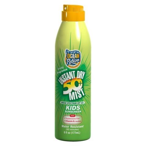 Ocean Potion® Instant Sunscreen Spray for Kids - 6 oz