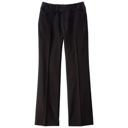 Merona® Women's Doubleweave Flare Pant - (Curvy Fit) - Assorted Colors