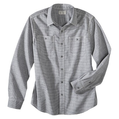 Converse® One Star® Men's Ryan Striped Long Sleeve Button Down Shirt