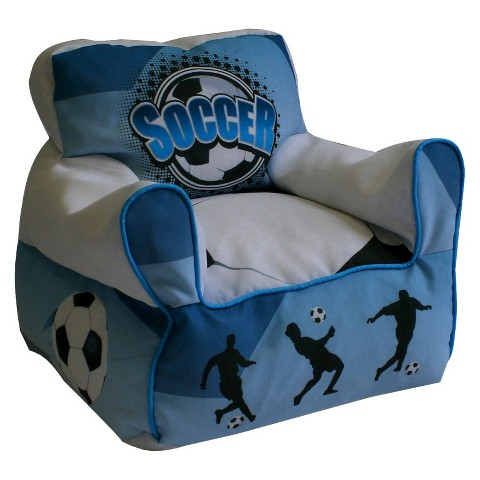 Komfy Kings Kids Bean Chair - Soccer Goal