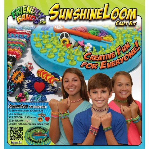 Sunshine Loom Rubber Band Craft Kit