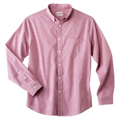 Merona Men's Checkered Button Down Shirt