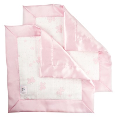 SwaddleDesigns® 2pk Muslin Lovie - Butterflies