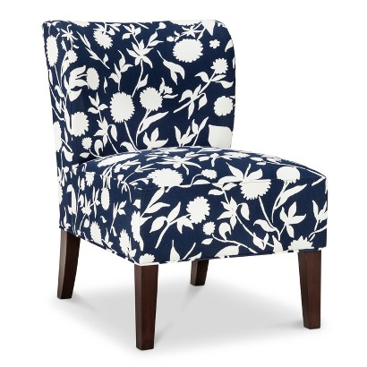 Threshold™ Scooped Back Chair - Navy Floral