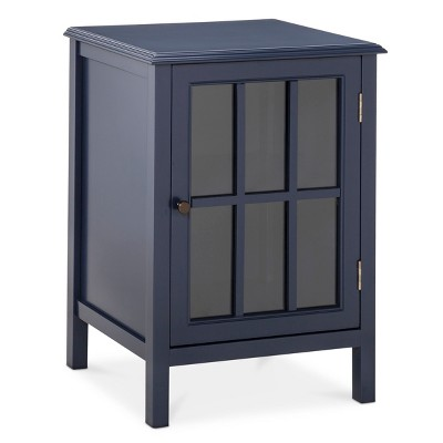 Windham One-Door Storage Cabinet - Navy - Threshold™