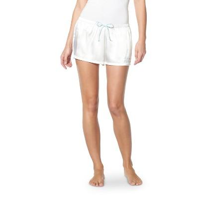 Women's Bridal Satin Short Ivory - Gilligan & O'Malley®