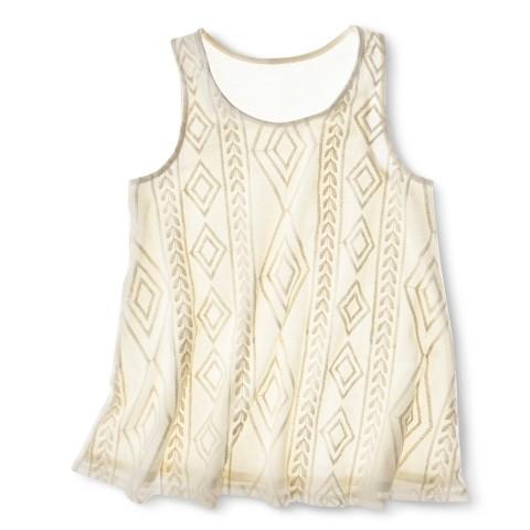 Cherokee® Girls' Sleeveless Tank Top - Shell