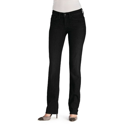 dENiZEN® Women's Essential Stretch Straight Leg Jean - Black