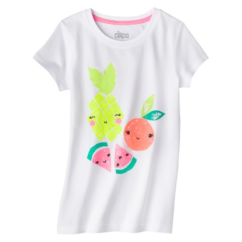 Girls' Fruit Graphic Tee