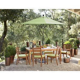 Smith & Hawken® Brooks Island Wood Patio Furniture Collection