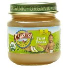 Earth's Best Organic First Pears Baby Food, 2.5 oz. (12 Count)
