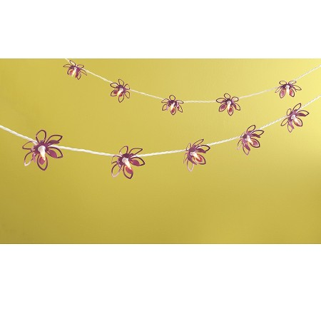 Room Essentials String Lights Flowers : Room Essentials Metal Lotus String Light : Target