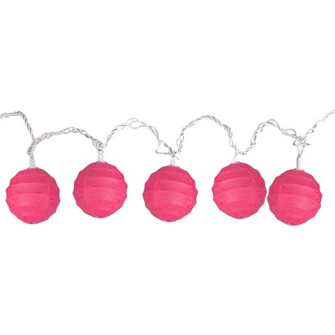 Room Essentials Paper Orb String Lights : Target