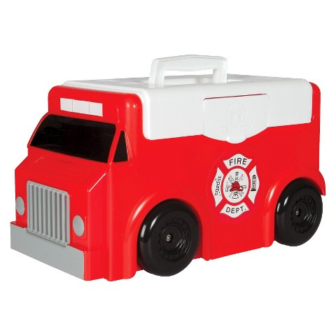 ToyTainer™ Fire Trunk Play N' Store