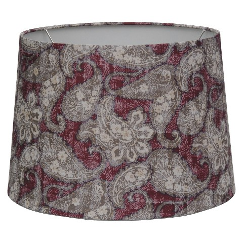 Threshold™ Paisley Print Modified Drum Lamp Shade
